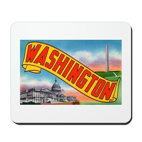 Washington D.C. Greetings Mousepad