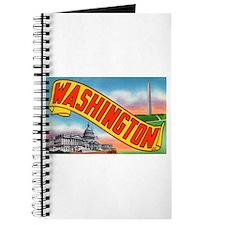 Washington D.C. Greetings Journal