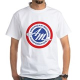 Amc Mens White T-shirts