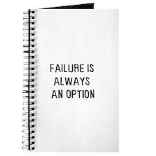 Failure is always an option Journal