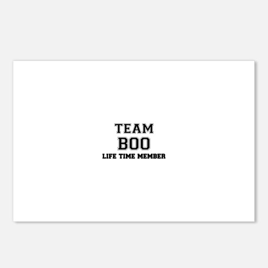 Team BOO, life time membe Postcards (Package of 8)