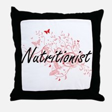 Nutritionist Artistic Job Design with Throw Pillow