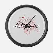 Nutritionist Artistic Job Design Large Wall Clock