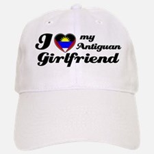 I love my Antiguan Girlfriend Baseball Baseball Cap