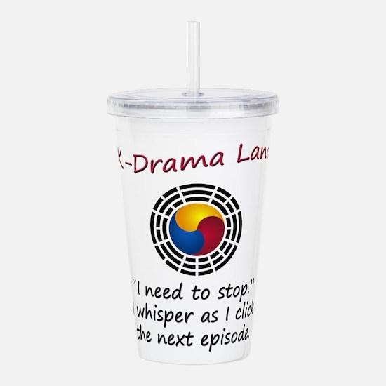 K-Drama Land Acrylic Double-wall Tumbler