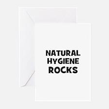Natural Hygiene Rocks Greeting Cards (Pk of 10)
