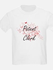 Patent Clerk Artistic Job Design with Butt T-Shirt