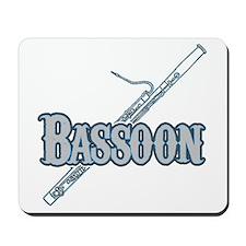 Bassoon Woodwind Band Member Mousepad