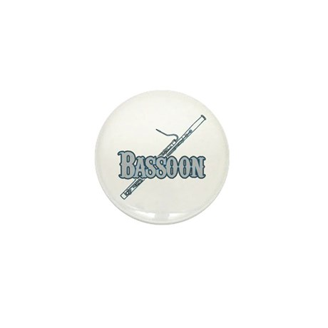 Bassoon Woodwind Band Member Mini Button (100 pack