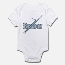 Bassoon Woodwind Band Member Infant Bodysuit