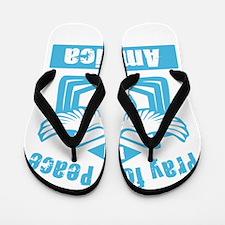 Pray for America Flip Flops