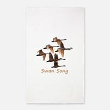 Swan Song Area Rug