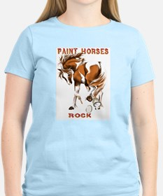 Paint Horses Rock T-Shirt