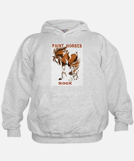 Paint Horses Rock Hoody