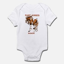 Paint Horses Rock Infant Bodysuit