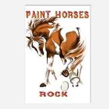 Paint Horses Rock Postcards (Package of 8)
