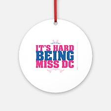 Hard Being MsDC Ornament (Round)