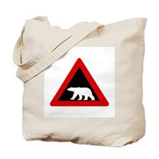 Beware of Polar Bears, Norway Tote Bag