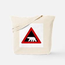 Beware of Polar Bears, Norway Tote Bag