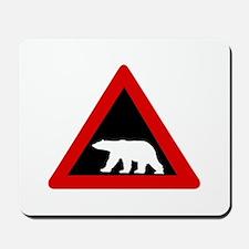 Beware of Polar Bears, Norway Mousepad