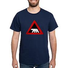 Beware of Polar Bears, Norway T-Shirt