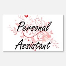 Personal Assistant Artistic Job Design wit Decal