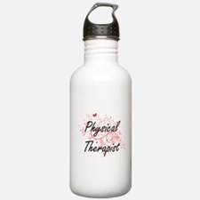Physical Therapist Art Water Bottle