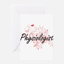 Physiologist Artistic Job Design wi Greeting Cards