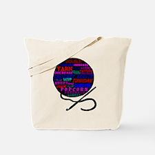 Cool Crochet hooker Tote Bag