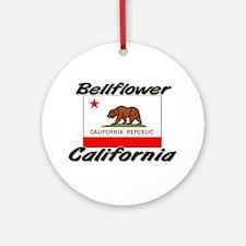 Bellflower California Ornament (Round)