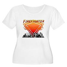 Firefighter Scene T-Shirt
