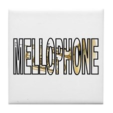 Mellophone Brass Marching Band Tile Coaster