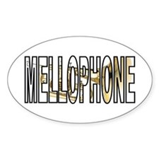 Mellophone Brass Marching Band Oval Decal