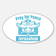Pray for Jerusalem Decal
