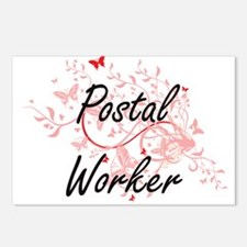 Postal Worker Artistic Jo Postcards (Package of 8)