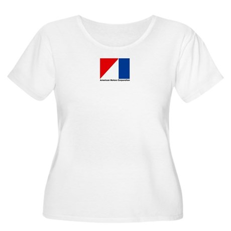 AMC Flag Women's Plus Size Scoop Neck T-Shirt