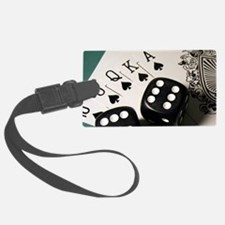 Cards And Dice Luggage Tag