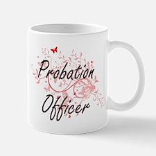 Probation Officer Artistic Job Design with Bu Mugs
