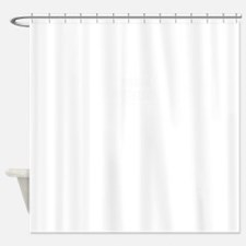 Team BUBBA, life time member Shower Curtain