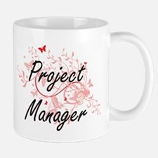 Project Manager Artistic Job Design with Butt Mugs