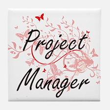 Project Manager Artistic Job Design w Tile Coaster