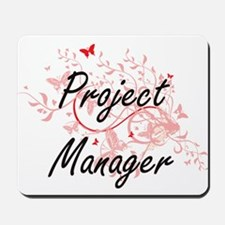 Project Manager Artistic Job Design with Mousepad