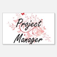 Project Manager Artistic Job Design with B Decal