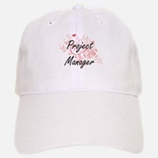Project Manager Artistic Job Design with Butte Baseball Baseball Cap