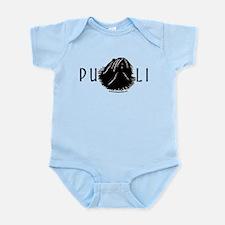 Puli Dog w/ Puli Text Infant Bodysuit