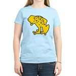 Yellow Spotted Frog Women's Light T-Shirt