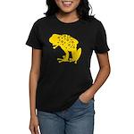Yellow Spotted Frog Women's Dark T-Shirt