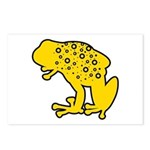 Yellow Spotted Frog Postcards (Package of 8)