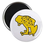 Yellow Spotted Frog Magnet