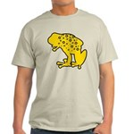 Yellow Spotted Frog Light T-Shirt